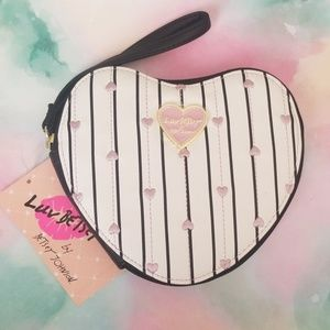 Betsey Johnson Heart Coin Purse
